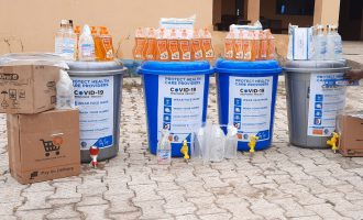 COVID-19: Doctors donate supplies to health centres in Osun