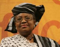 Former UK prime minister endorses Okonjo-Iweala for WTO job