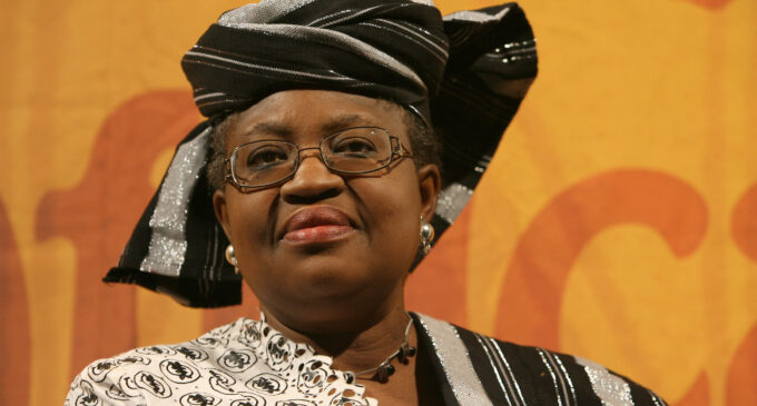Former UK prime minister endorses Okonjo-Iweala for WTO job