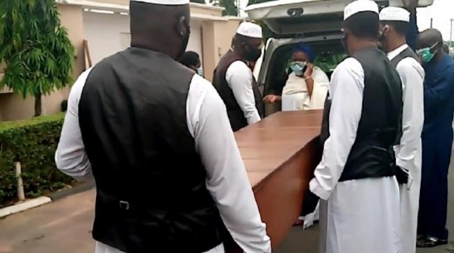 Ajimobi buried in Ibadan