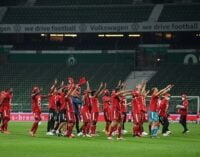 Bayern Munich win 8th successive Bundesliga title after beating Bremen