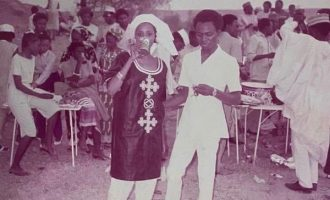 'My then boyfriend and I' — el-Rufai's wife shares throwback photo