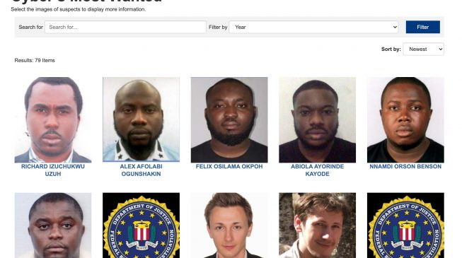 ALERT: FBI needs you… help find these Nigerians indicted for $6m fraud