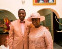 'He isn't the cause of your misfortune' — Adeboye's message on wife's birthday stirs dispute