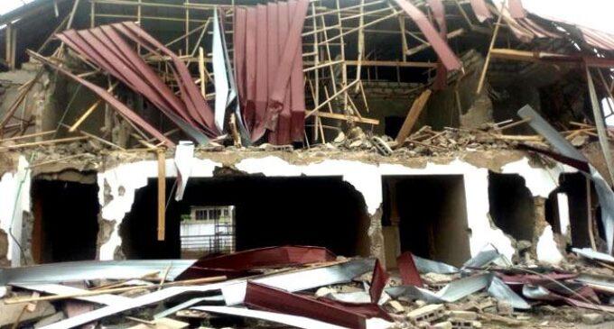 Armed men break into Nigerian high commission in Ghana, demolish apartments