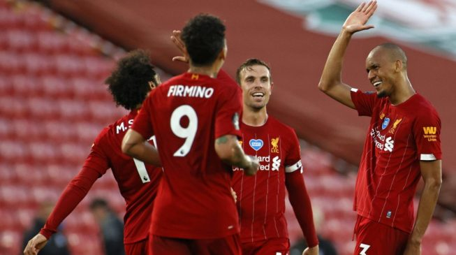 Liverpool win their first Premier League title in 30 years