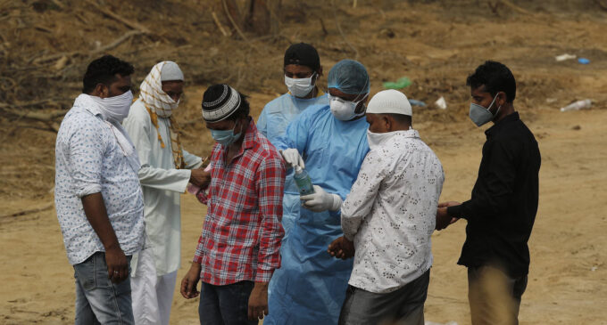 India's capital announces lockdown amid surge in COVID infections