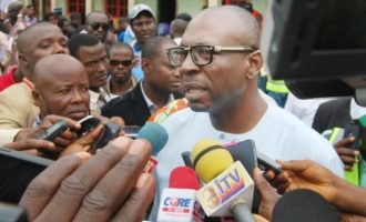 'The bad apple has taken itself out of the bag' — Ize-Iyamu takes aim at Obaseki