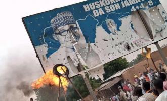 Pulling down Christopher Columbus', Buhari statues