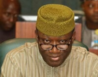 Fayemi tackles Ojudu over 'fabricated report' on visit to Buhari