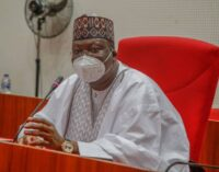 Lawan: N'assembly will no longer tolerate disrespect from Buhari's appointees