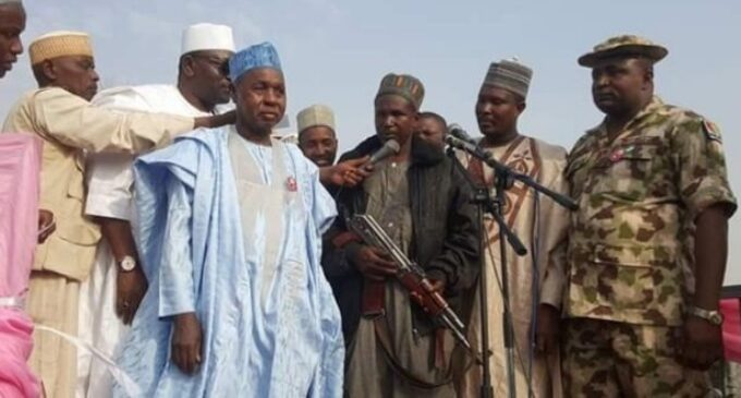 Over 150 groups of bandits operate in the forests, says Masari