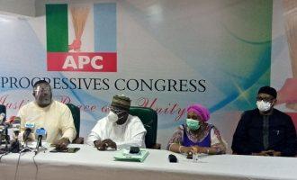 Dissolved APC NWC members dare Buhari, mull legal action