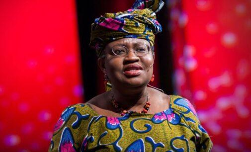 WTO names Okonjo-Iweala one of two finalists in DG election