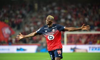 Osimhen named best African player in Ligue 1