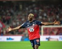 Osimhen voted Lille's player of the season