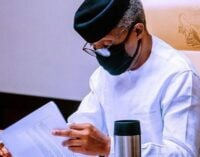 Osinbajo postpones national economic council meeting as APC NEC holds Thursday