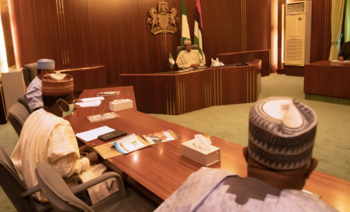 PHOTOS: Buhari meets governors as APC boils