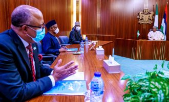 PTF briefs Buhari as second phase of eased lockdown ends