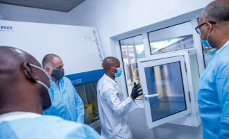 Nigeria procures COVID-19 testing machine with support from UK
