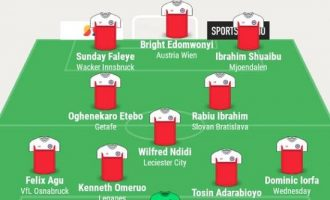 Etebo, Ndidi, Omeruo… TheCable's team of the week
