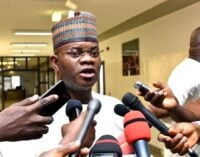 Yahaya Bello: FG should focus on economic recovery NOT procuring COVID-19 vaccines