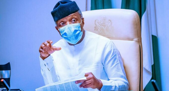 Osinbajo to speak at virtual conference on law and technologies