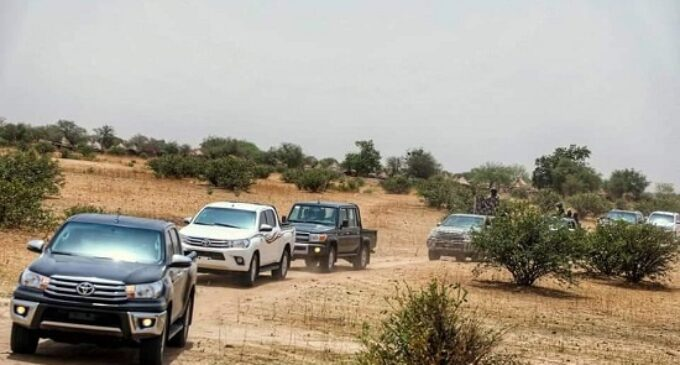 Gunmen open fire on Borno gov's convoy