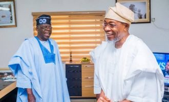 Tinubu: Disbandment of APC political groups not targeted at Aregbesola
