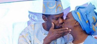 Adeboye celebrates wife's 72nd birthday with passionate kiss