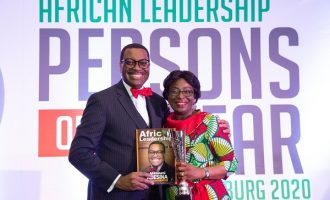 'You're the best' — Akinwumi Adesina celebrates wife on 36th wedding anniversary
