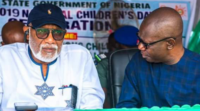 You are incapacitated… hand over to me, deputy gov tells Akeredolu