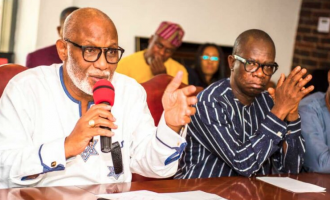 Despite having COVID-19, Akeredolu'll never hand over to deputy, says commissioner