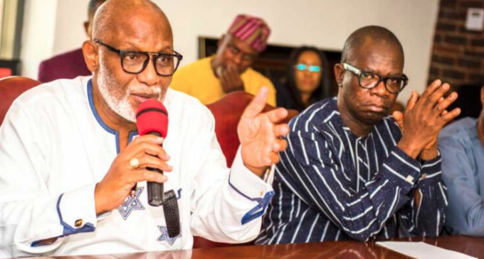 Akeredolu gives condition to forgive Ajayi