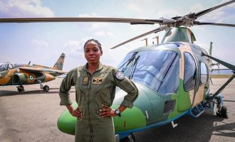 'She was a shining star' — reactions to death of Arotile, NAF's first female combat helicopter pilot
