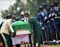 PHOTOS: Arotile buried in Abuja