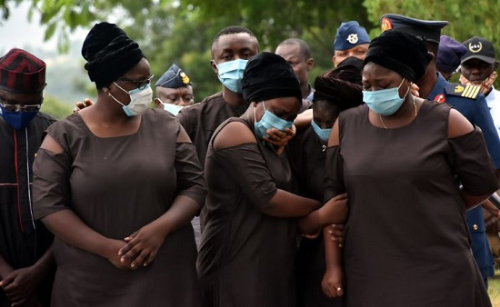 PHOTOS: Arotile buried in Abuja | TheCable