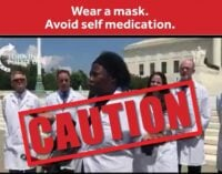 'Avoid self-medication' — PTF taunts 'Stella the chloroquine doctor'