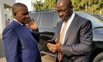 I did not endorse Obaseki, says Dangote