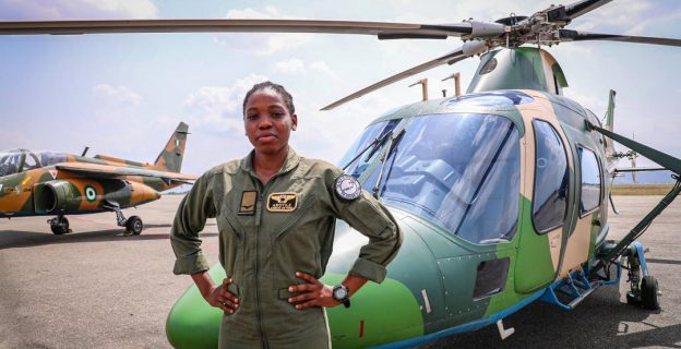 The life and times of Arotile, Nigeria's first female combat helicopter pilot