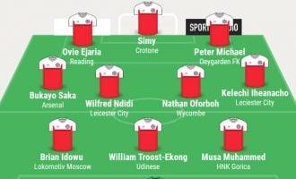 Iheanacho, Ndidi, Saka…TheCable's team of the week