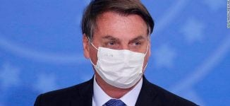 Brazilian president, master of COVID-19 theatrics, tests positive