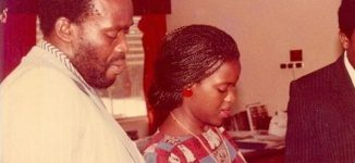 Joke Silva shares throwback picture with Olu Jacobs – days after his 78th birthday
