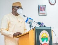 Governors are tired and frustrated, says Fayemi on rising insecurity