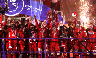 Liverpool lift EPL trophy after beating Chelsea in 8-goal thriller