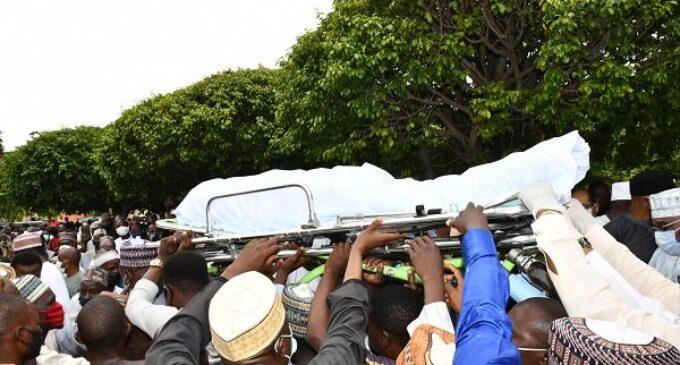 PHOTOS: Isa Funtua buried in Abuja