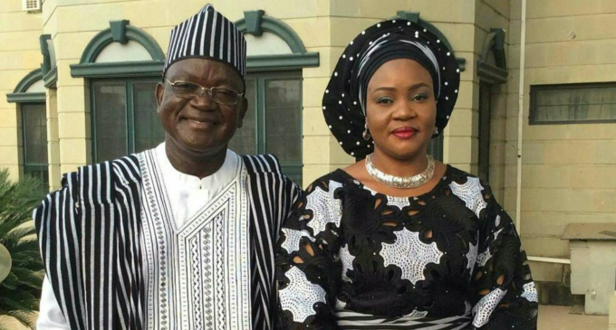 Benue governor's son, wife test positive for COVID-19