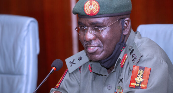 Books can be written about my achievements, says Buratai