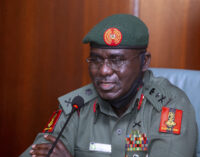 Buratai: 99 percent of terrorists are Nigerians