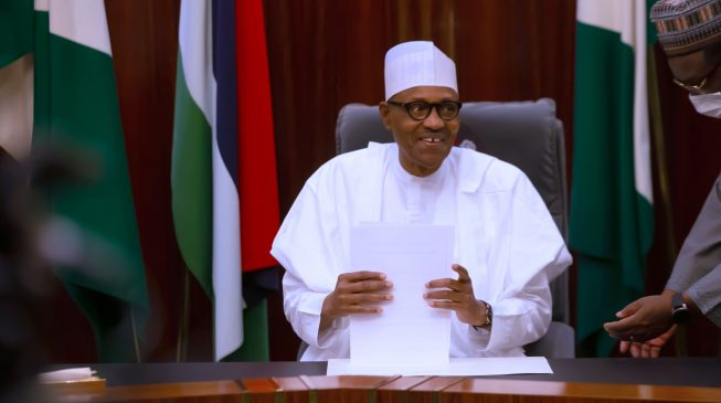 'Don't forget home' — Buhari asks Nigerians abroad to support COVID-19 economic recovery efforts
